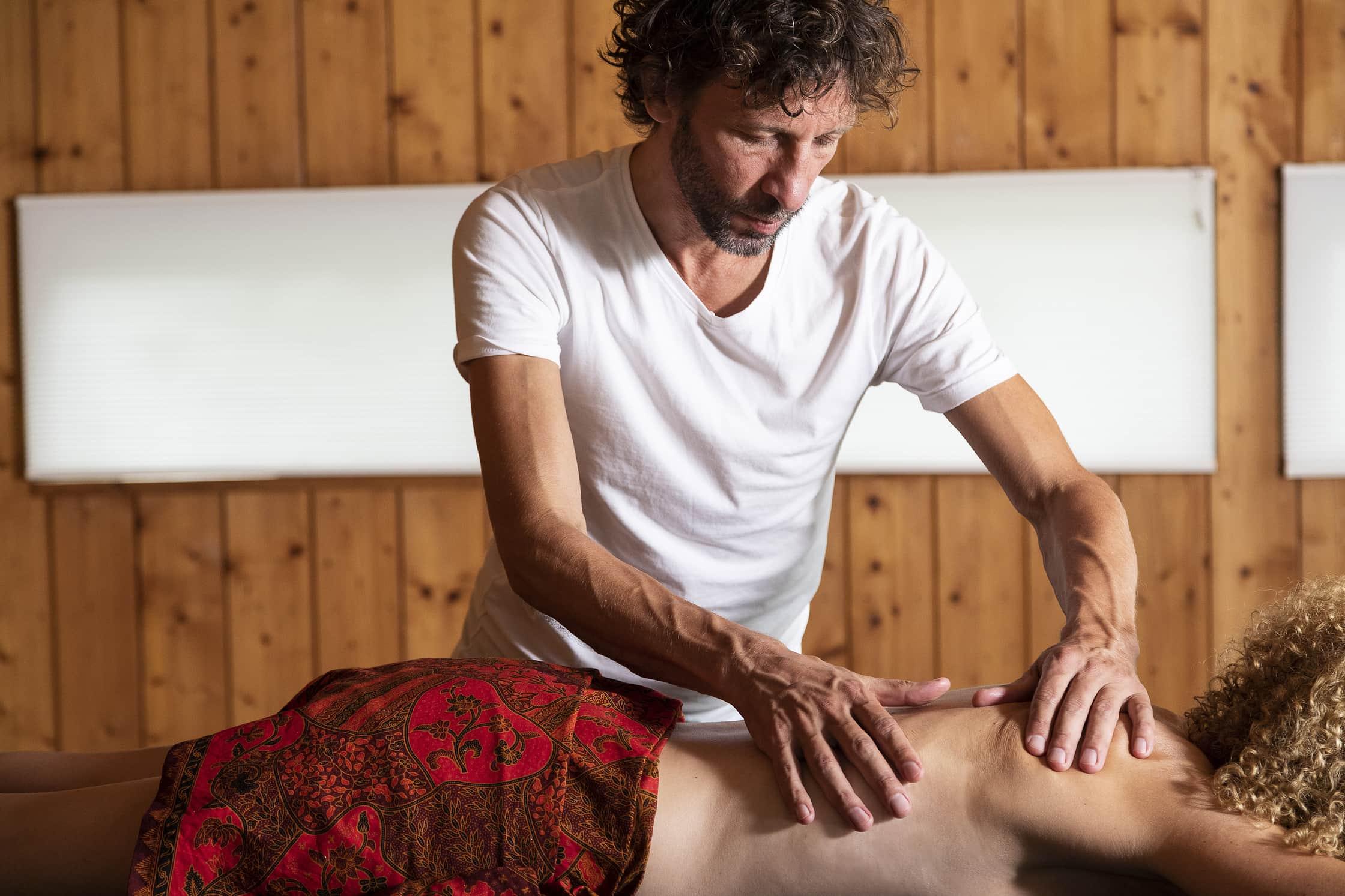 Massage om thuis te komen
